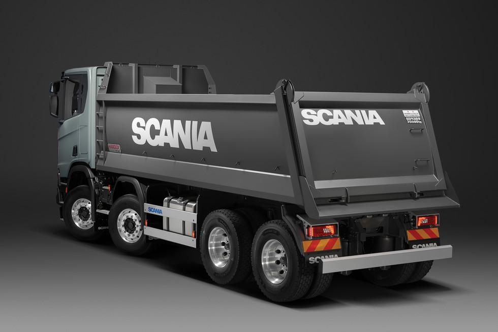Scania Tipper R500 8x4