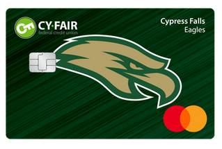Cy Fair Federal Credit Union School Spirit Debit Cards