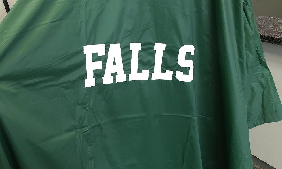 Cy Falls Plastic Rain Poncho