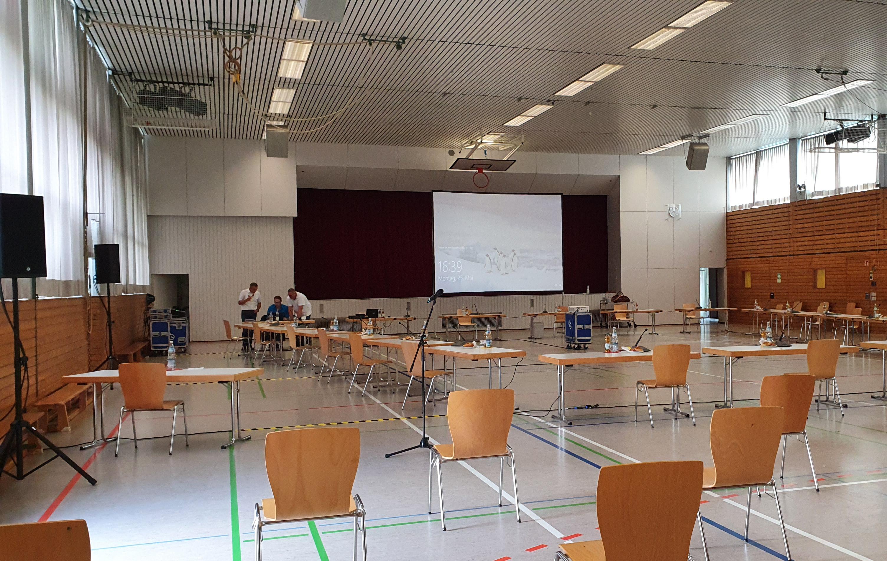 Konferenz Ratssitzung