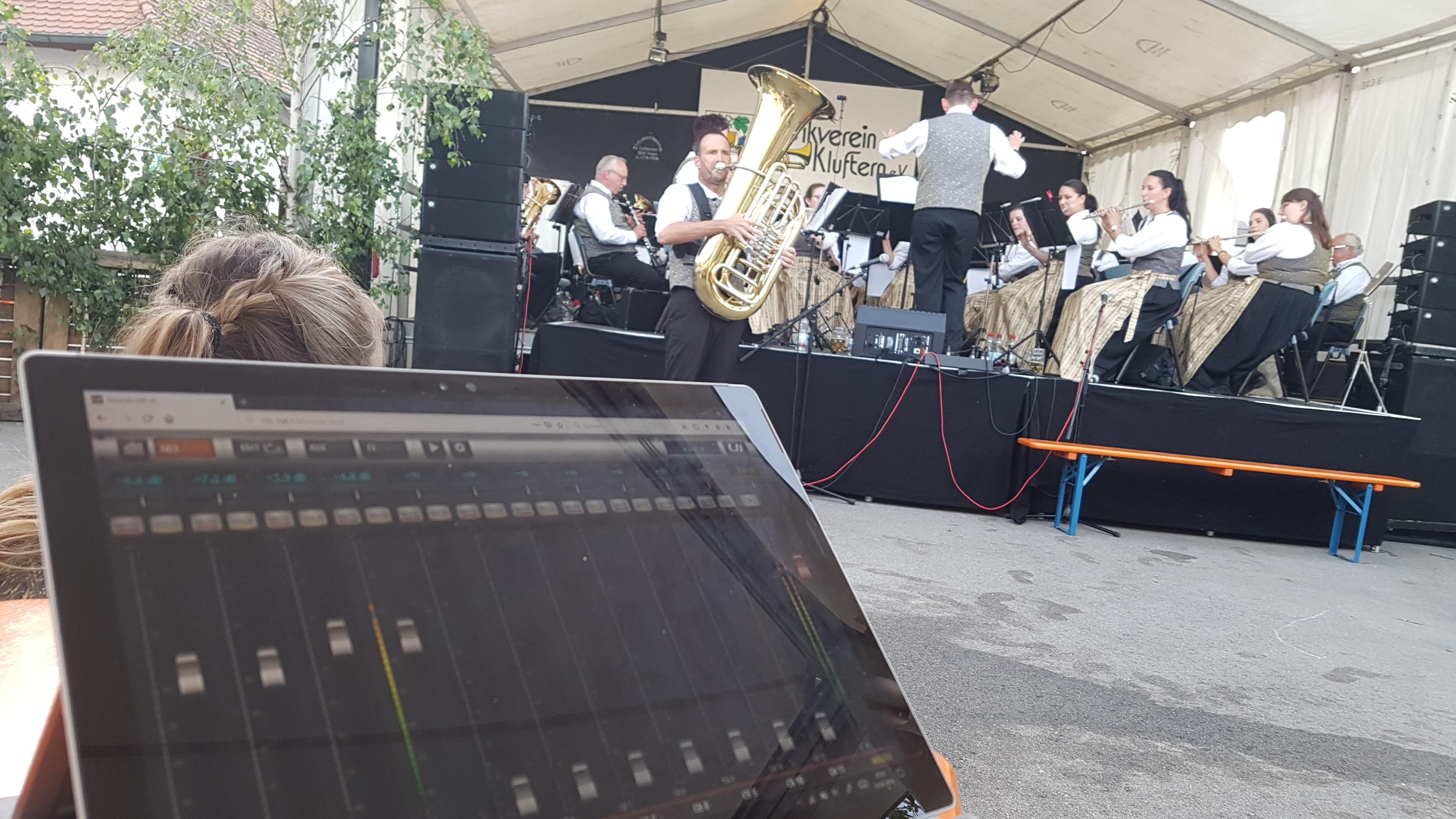 Tontechnik Musikverein