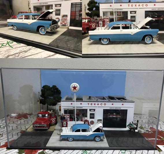 Ford Fairlane Diorama '55