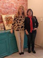 Gloria V. Casañas novelas  con Marisol Palacios, del diario ABC de Asunción