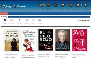 Gracias lectores: primera también en el ranking de ILHSA (Librerías El Atreneo, Yenny, Tematika)