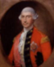 retrato de Jeffrey Amherst, primer baron de Amherst