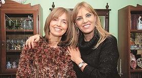 Con Tete Coustarot reportaje para revista DEMOCRACIA grupo Crónica