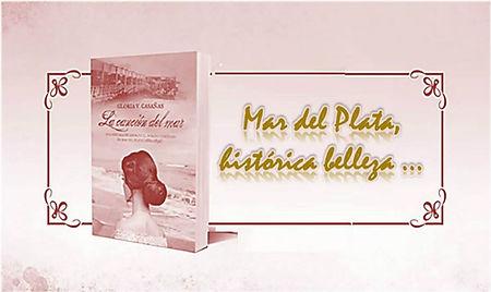 Fotos históricas del balneario y playas de Mar del Plata beach - La canción del mar novela Gloria V. Casañas Casanas