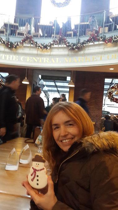 galletas de jengibre en Quincy Market -Boston- Gloria Vodanovich Casañas Casanas
