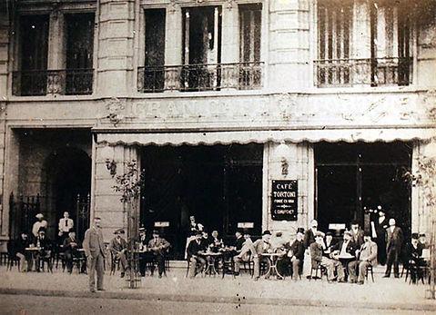 Café Tortoni-Ciudad de Buenos Aires-siglo XIX