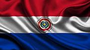 Bandera del Paraguay Gloria V. Casañas