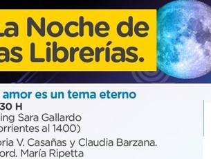 La Noche de las librerías 2018