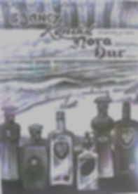 afiche de la época de propaganda de AGUA FLORIDA