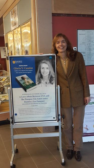 conferencias en Framingham State University, Massachusetts