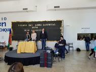 recibiendo el título de Visitante Ilustre de Mar Chiquita de las autoridades municipales