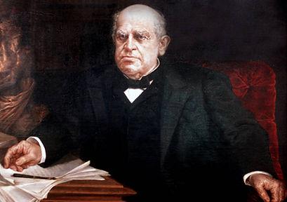el Presidente argentino Domingo Faustino Sarmiento