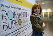 Gloria V Casañas en el Primer Festival Novela Romántica Buenos Aires