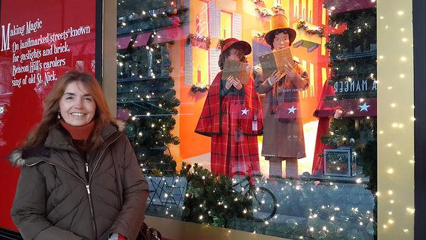 christmas in Boston The romance writer Gloria Vodanovich Casañas Casanas
