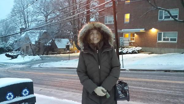 Primeras nevadas en Massachusetts