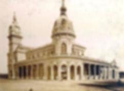 La estación del tren ferrocarril de Mar del Plata en 1890