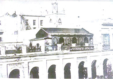casa de fotografía ANSALDI - sobre La Recova - Buenos Aires - siglo XIX