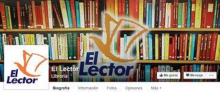 facebook de la LIBRERIA EL LECTOR de ASUNCION DEL PARAGUAY