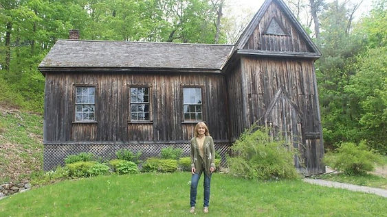 la capilla Hillside, donde Bronson Alcott, el padre de Louisa May Alcott, daba clases de Filosofía