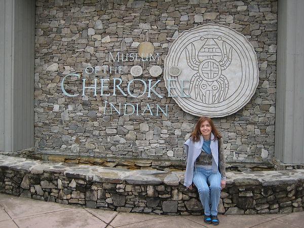 En Carolina del Norte, museo indígena Cherokee