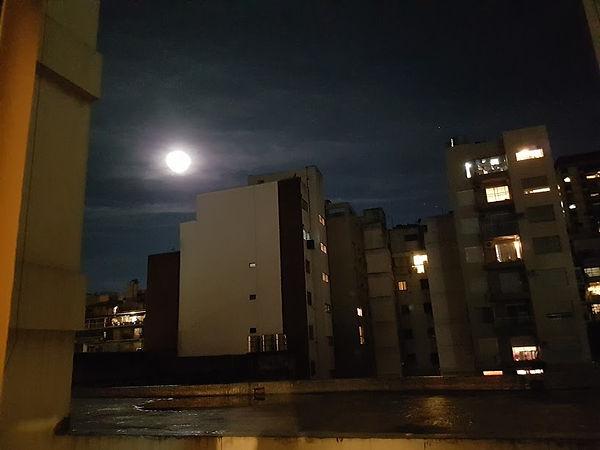 Luna de Perigeo sobre Buenos Aires, el día que se anunció Noche de Luna Larga
