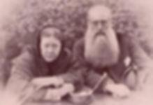 Mme. Blavatski y el coronel Olcott