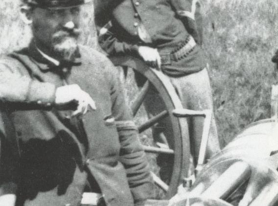 Ametralladoras Gaitlin, usadas en Wounded Knee