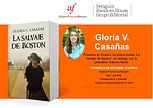 Encuentro en Rosario de la escritora Gloria V. Casañas en la Alianza Francesa