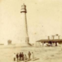 el faro de Punta Mogotes