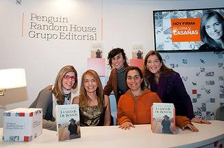 El staff de Penguin Random House Buenos Aires -Argentina