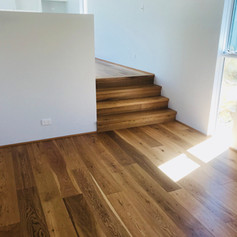 European oak floating floor