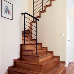 Direct stick staircase