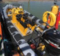 rib, powerboat