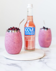 Blueberry Pomegranate Probiotic Smoothie