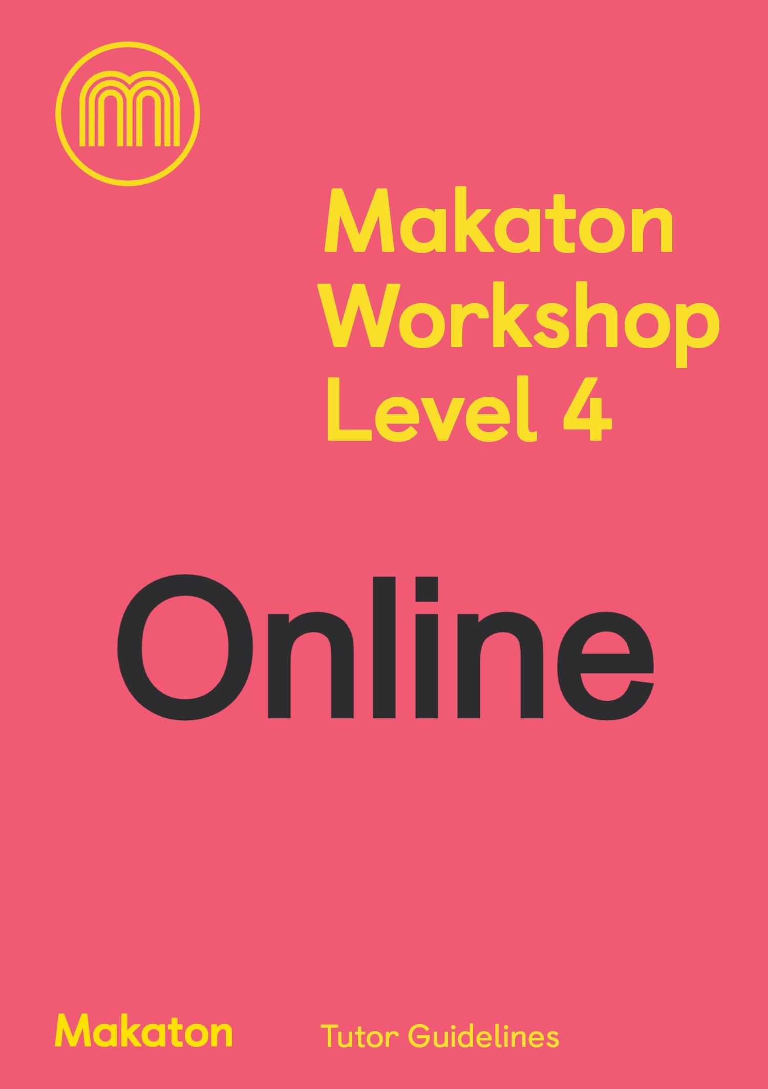 ONLINE Makaton Workshop Level 4