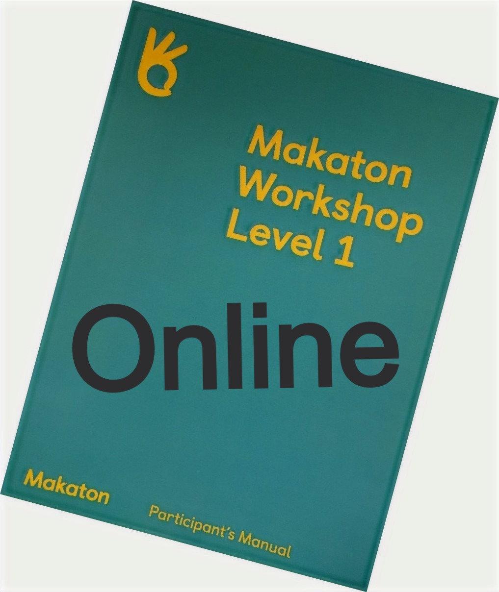 ONLINE Makaton Workshop Level 1