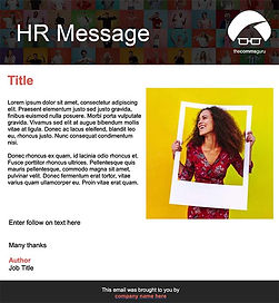 outlook email template