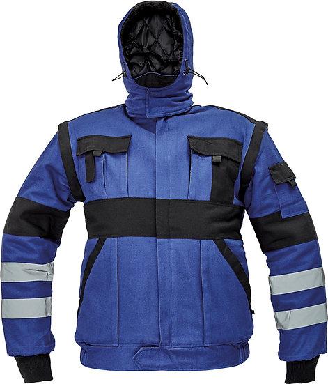 MAX WINTER RFLX DZSEKI kék-fekete