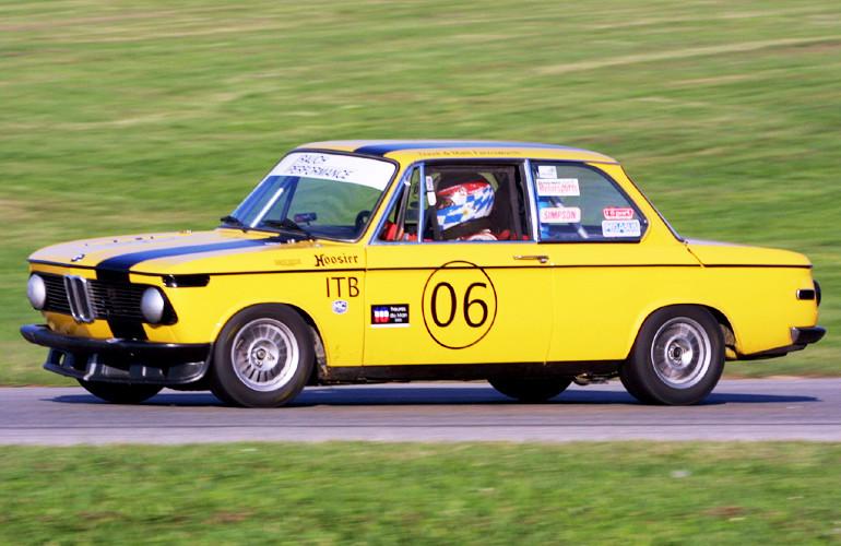 Grattan Raceway, Grand Rapids, Michigan BMW 2002 Vintage Race