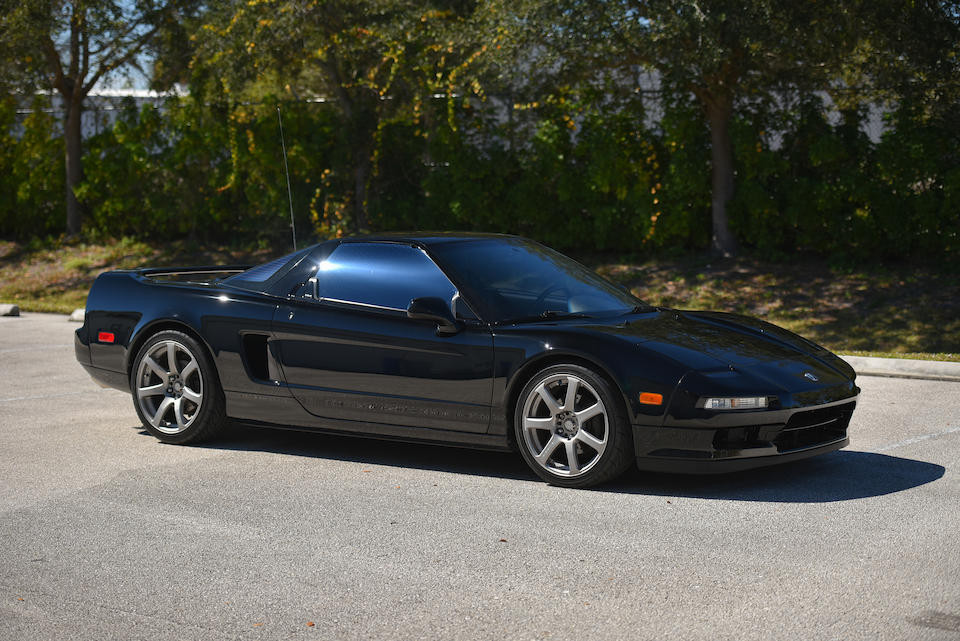 Black Acura NSX Coupe