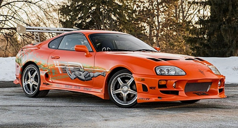 Paul Walker's 1993 Toyota Supra - The Fast and the Furious