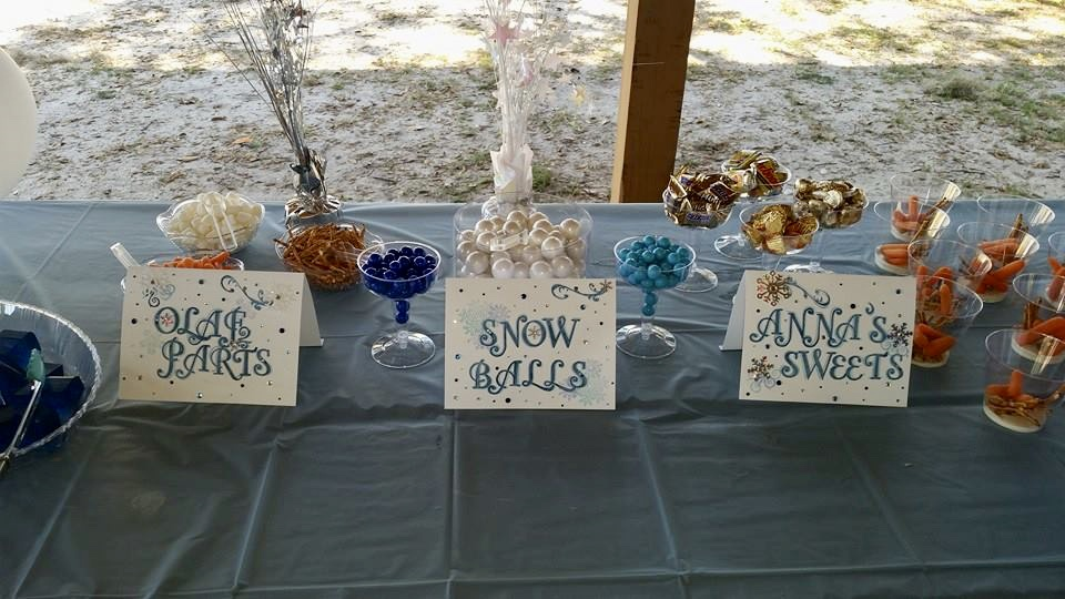 Frozen Theme Kids birthday party