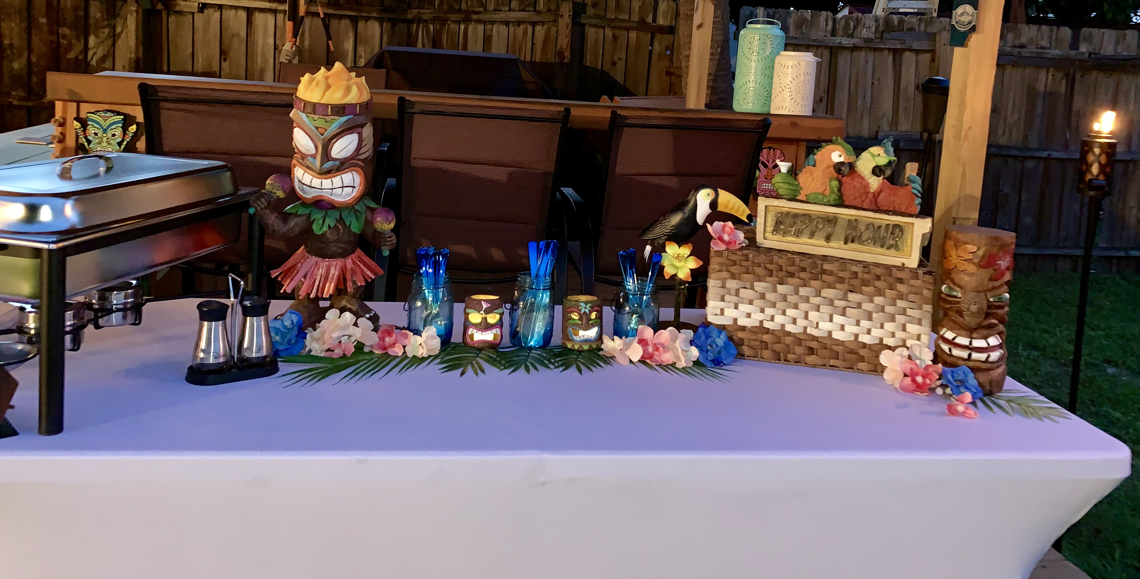 Tiki Bar Catering