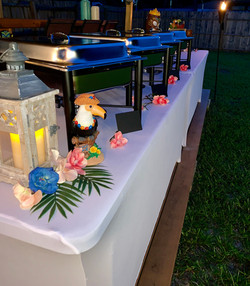 Tiki Theme Catering