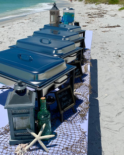 Beach front Catering