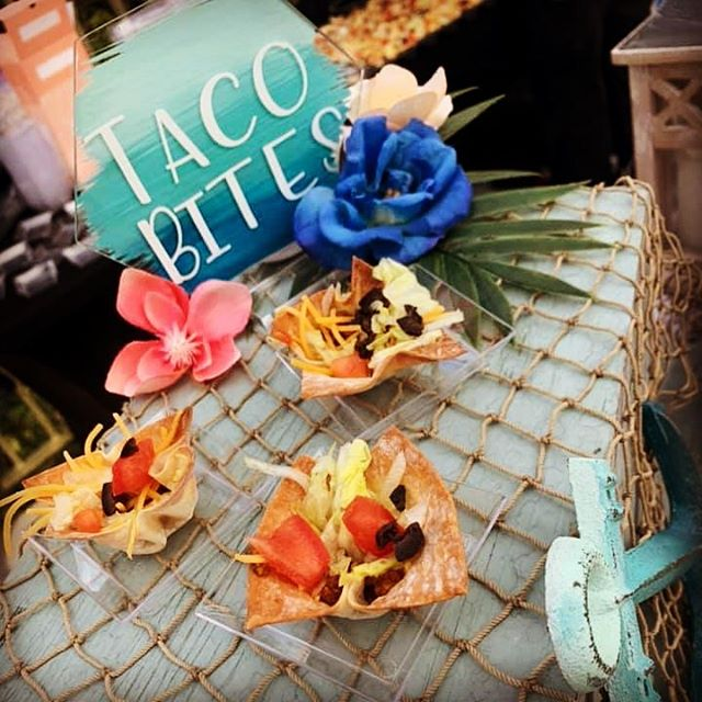 Taco bites!! One of our favorites!! Thes
