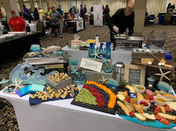 Blue Water Catering display